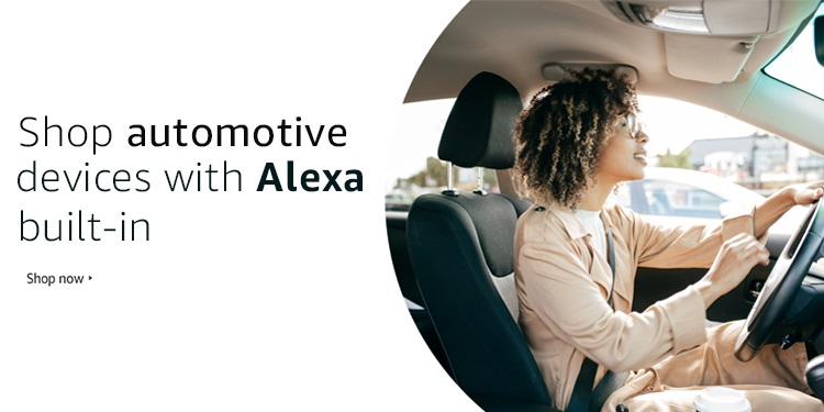 Alexa built-in auto devices deal