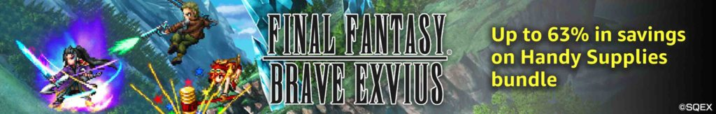 Free download FINAL FANTASY BRAVE EXVIUS with 2018 Black Friday promo