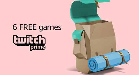promo code 'TNTWPRIME5' for Amazon purchase with Twitch Prime
