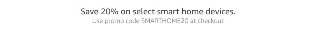 Promo codes for smart bulb/plug/hub/doorbell/deadbolt Amazon