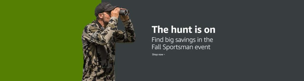 Fall 2018 promo event for sportsman Amazon