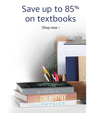 Promo code 'TEXT10' for extra 10% off textbooks on spending $100 at Amazon