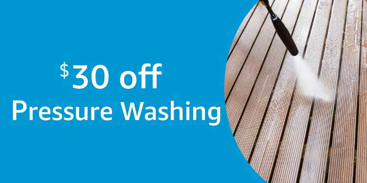 $30 off Amazon Home Service for Pressure Washing