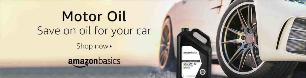 Amazon deals on oil, oil filters, truck parts and accessories