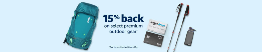 The latest benefits on promo through Amazon Prime Store Card (Rewards Visa Card)