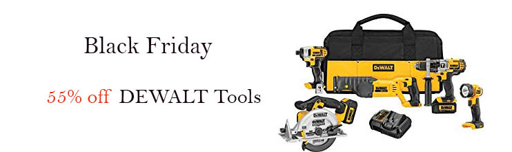 Black Friday promo for Tools & Home Improvement Amazon