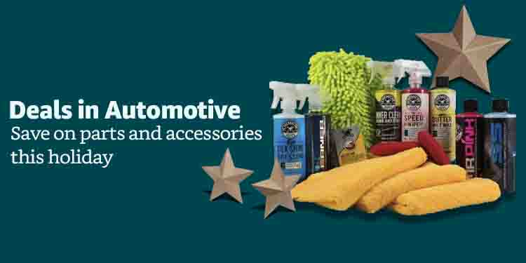 2018 Early Black Friday promo for Automotive Parts & Accessories Amazon