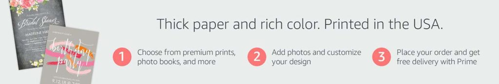 Four Promo Codes for Amazon Prints, offering
