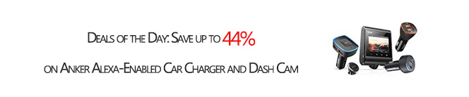 Save up to 44% on Anker Alexa-Enabled Car Charger and Dash Cam