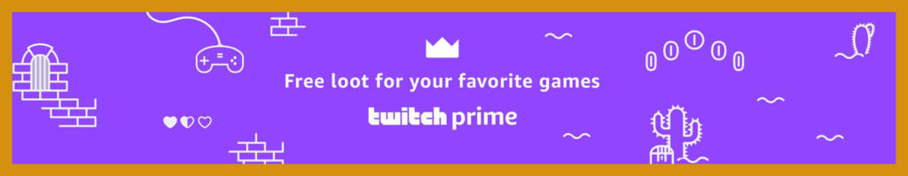 promo code with Twitch Prime