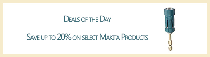 Up to 50% off Makita Promo Days at Amazon