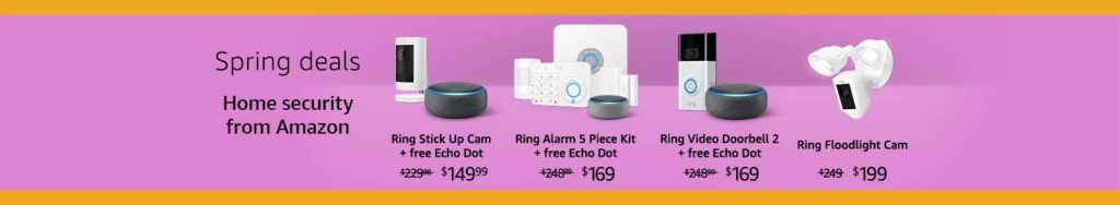 Smart electrical appliances promo in Amazon Smart Home month