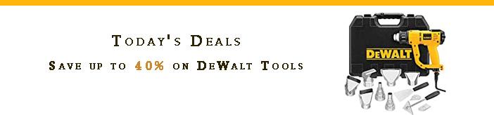 DeWalt promos