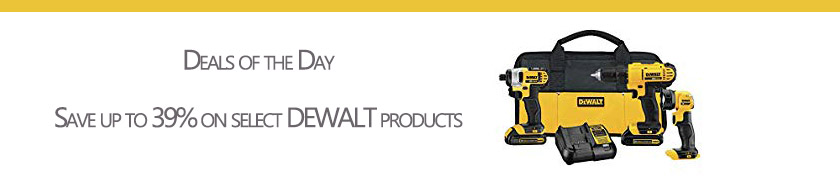 Dewalt tools at the most appropriate promo prices for Dad