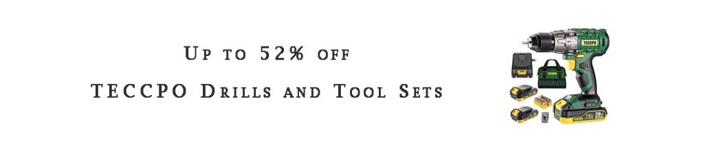 TECCPO Drills and Tool Sets