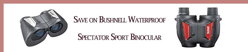 Promos for Bushnell Binoculars & Scopes Amazon