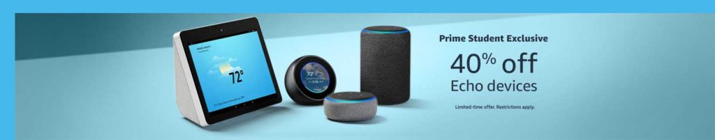 Promo codes on Amazon Echo devices