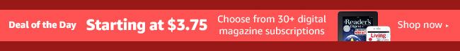magazines subscription promo