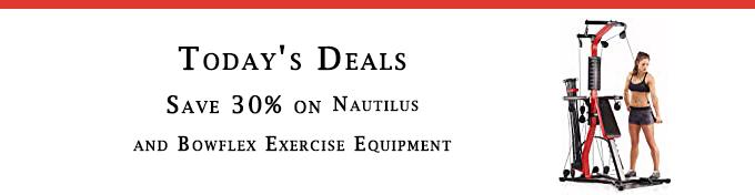 Exercise Equipment promo