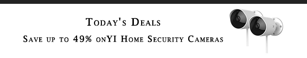 Home Security Camera promo