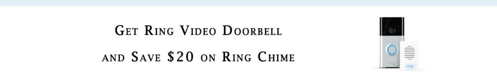 Promo code for doorbell