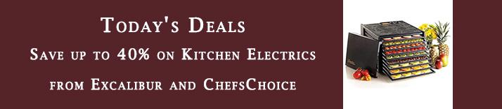 Kitchen equipment promo