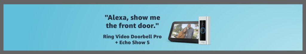 Amazon smart doorbell