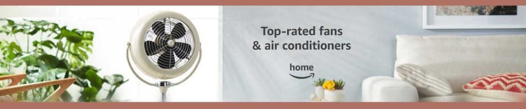 fans and air conditioners promo