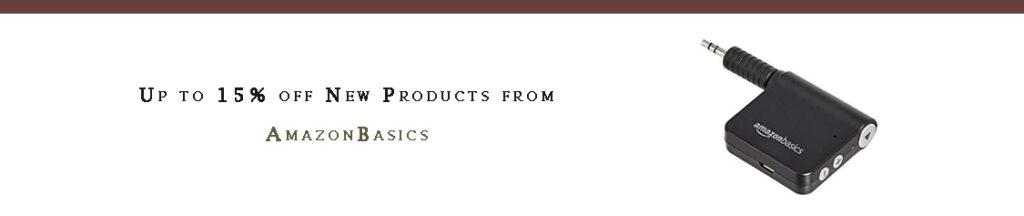 AmazonBasics promo
