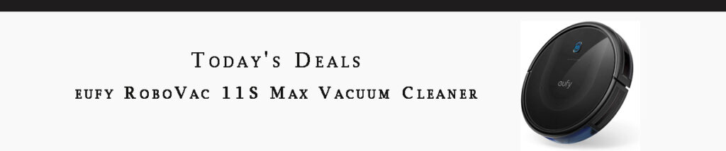 Robot Vacuum Cleaner promo