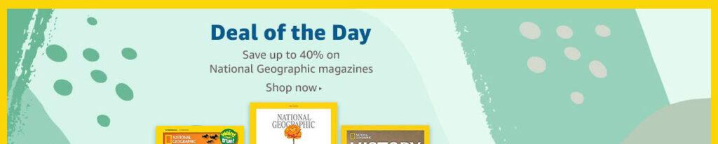 magazine subscription promos