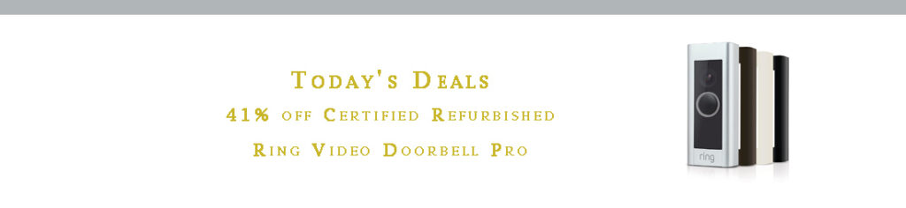 Promo codes for smart doorbell