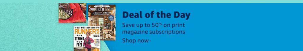 magazines promos