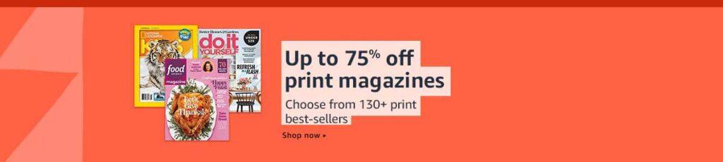 magazines deals
