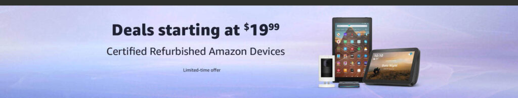 Certified Refurbished Amazon Devices