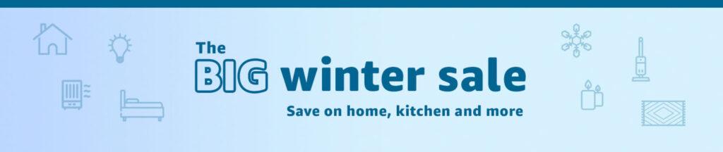 Amazon Home winter sale