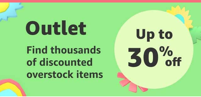 Amazon outlet store overstock deals, coupons, promo codes,and more