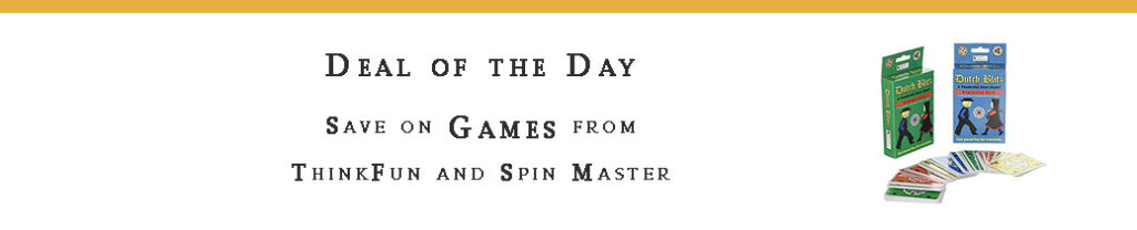 Games from ThinkFun, Spin Master