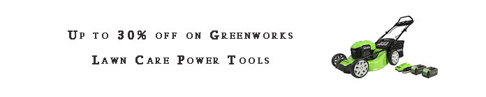 Greenworks Lawn Care Power Tools