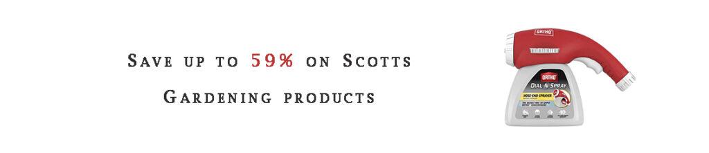 Scotts Gardening products