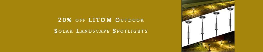 Solar Landscape Spotlights