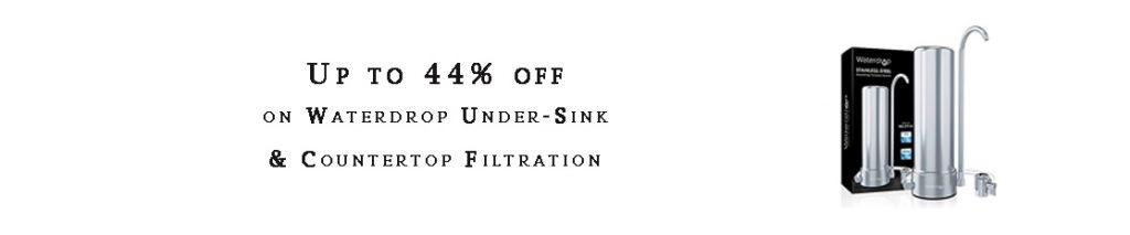 Waterdrop Under-Sink & Countertop Filtration