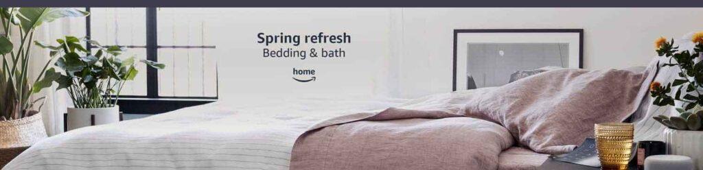 bedding items promos