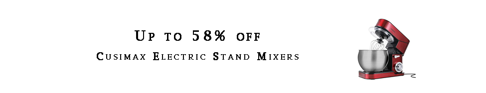Cusimax Electric Stand Mixers
