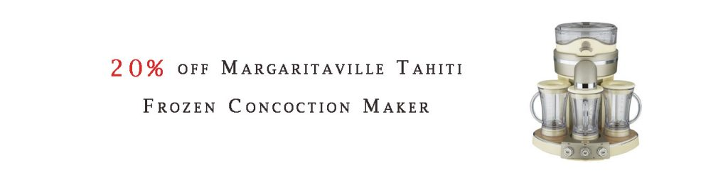 Margaritaville Tahiti Frozen Concoction Maker