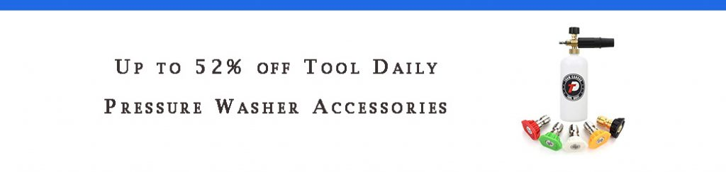 Tool Daily Pressure Washer Accessories