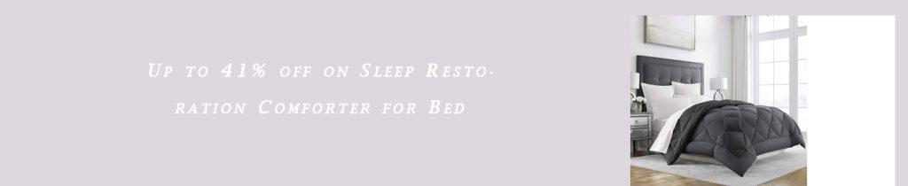 Sleep Restoration Comforter