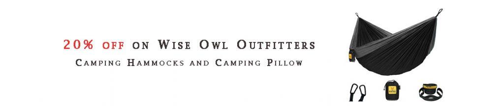 Camping Hammocks and Camping Pillow