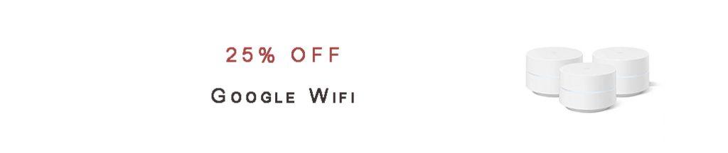 Google Wifi promos