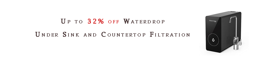 Waterdrop Under Sink and Countertop Filtration